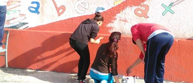 pintando fachada cerrochatoplan
