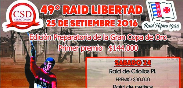 afiche 49 edicion raid libertad