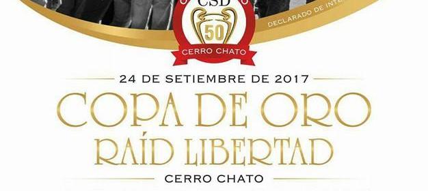 afiche copa de oro 2017 raid libertad